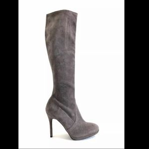 Stuart Weitzman Prez Stretch Knee Platform Boot